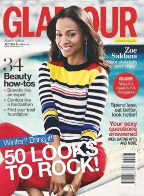 Glamour Cover