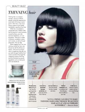 Longevity Thinning Hair Article