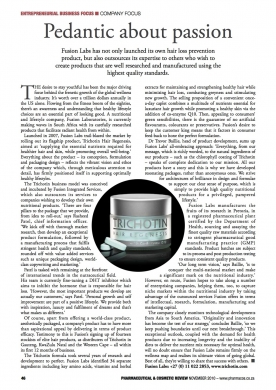 Pharmaceutical & Cosmetic Article