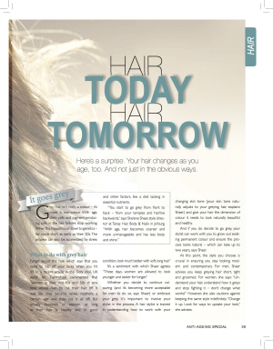 Sunday Times Anti aging Hair article pg 2