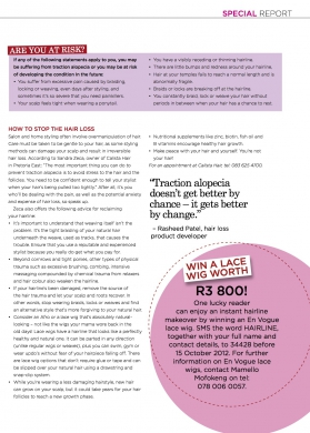 Traction Alopecia pg 2