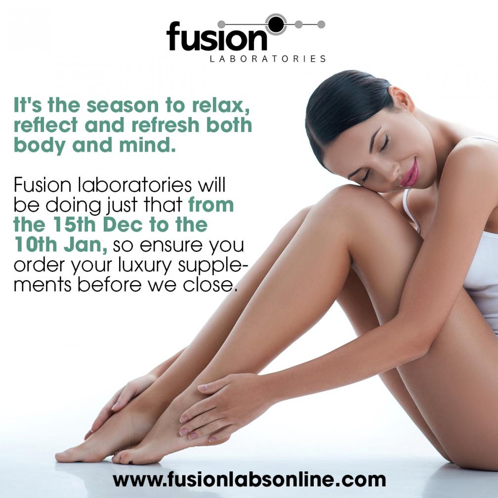 Fusion Laboratories Vacation Dates